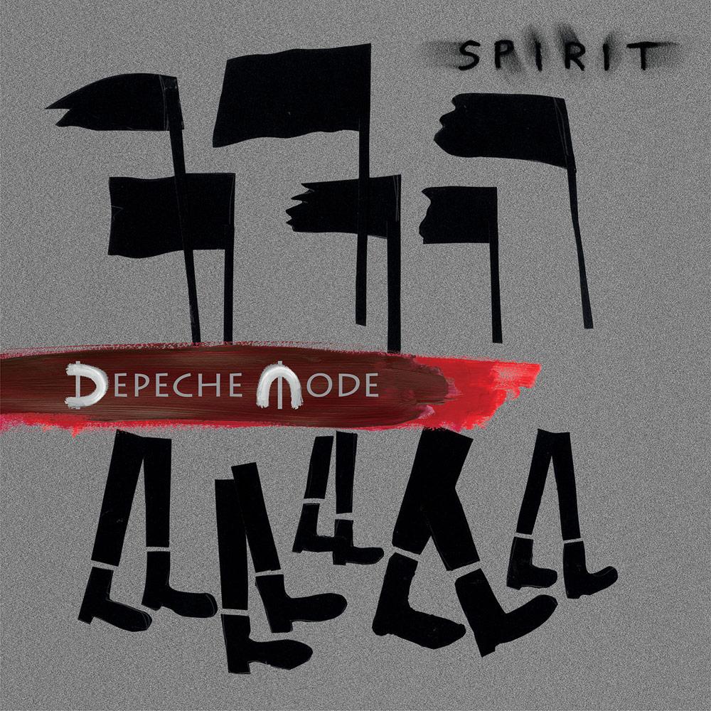 Обложка на албума на Депеш Мод Spirit